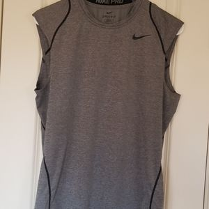 Nike Pro Men's Fitted Sleeveless Training Top